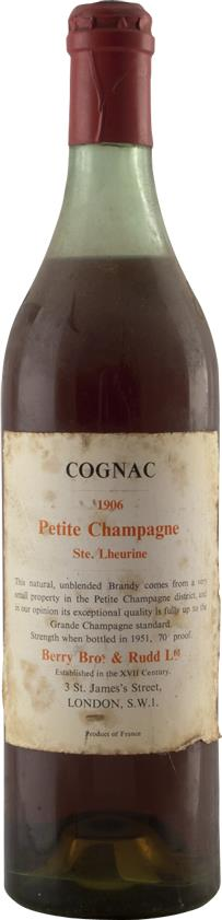 Cognac 1906 Sainte Lheurine (7581)