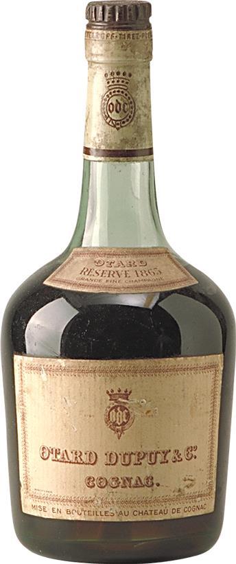 Cognac 1865 Otard Dupuy & Co (7620)