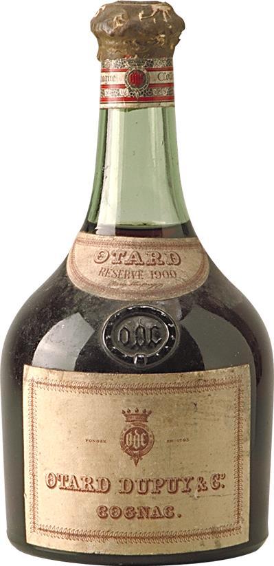 Cognac 1900 Otard Dupuy & Co (7621)