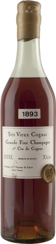 Cognac 1893 Philippe de Castaigne Très Vieux 43% ABV