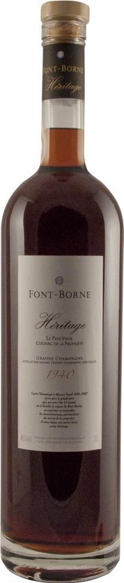 Cognac 1940 Font Borne Héritage (7709)