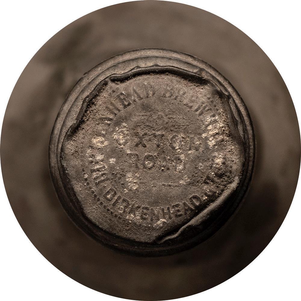 Cognac 1870 Birkenhead Brewery Christie's Label