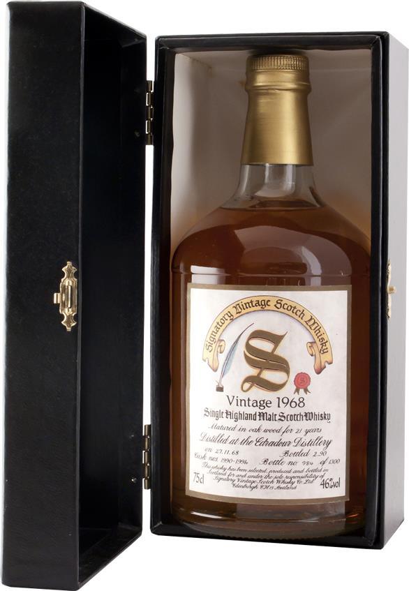 Whisky 1968 Edradour Signatory (7817)