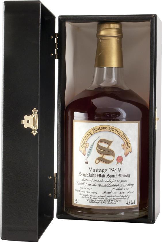 Whisky 1969 Bruichladdich Signatory (7819)