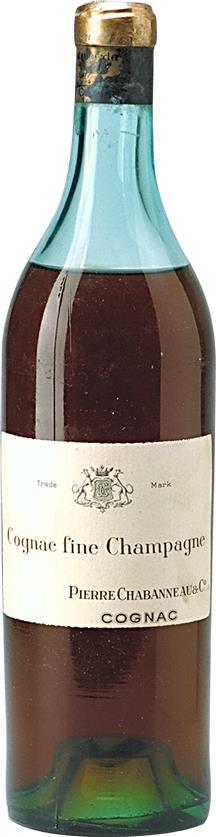 Cognac 1885 Pierre Chabanneau & Co (1895)