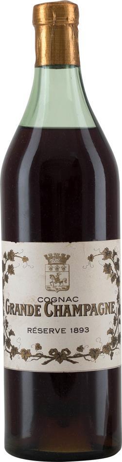 Cognac 1893 Grande Champagne Réserve (20032)