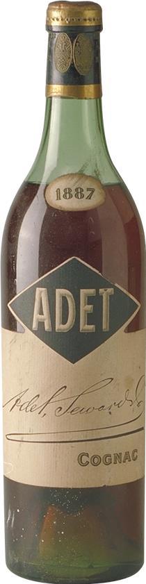 Cognac 1887 Adet Seward & Co (1902)