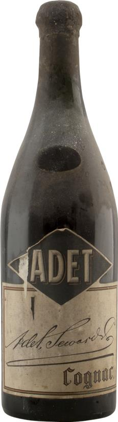Cognac 1893 Adet Seward & Co, Bottled in the 1920's (presumed) (20400)