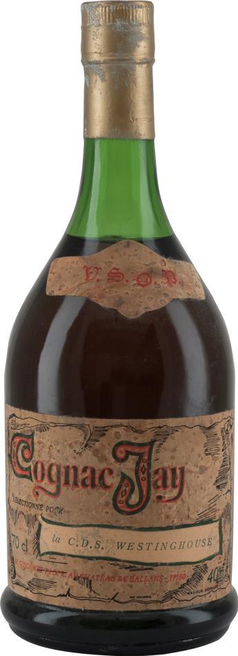 Cognac 1970s Jay VSOP (8275)