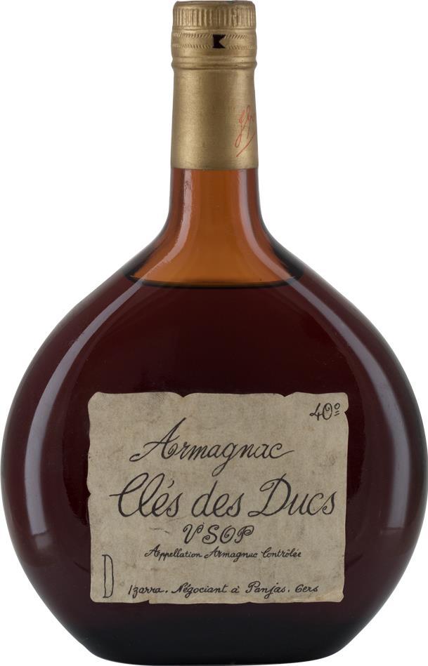 Armagnac Cles des Ducs 1970's 70cl (8285)