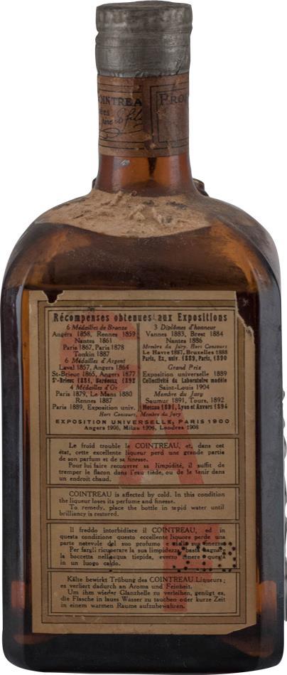 Liqueur Cointreau 1940s