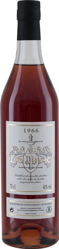 Armagnac 1966 De Loyac (8343)