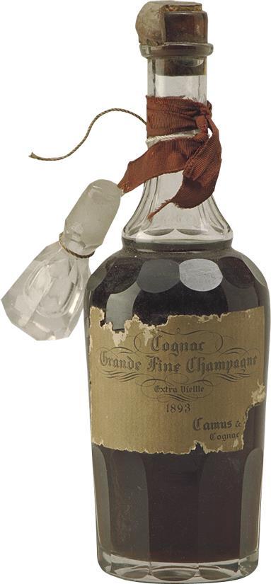 Cognac 1893 Camus Fine Champagne (1940)