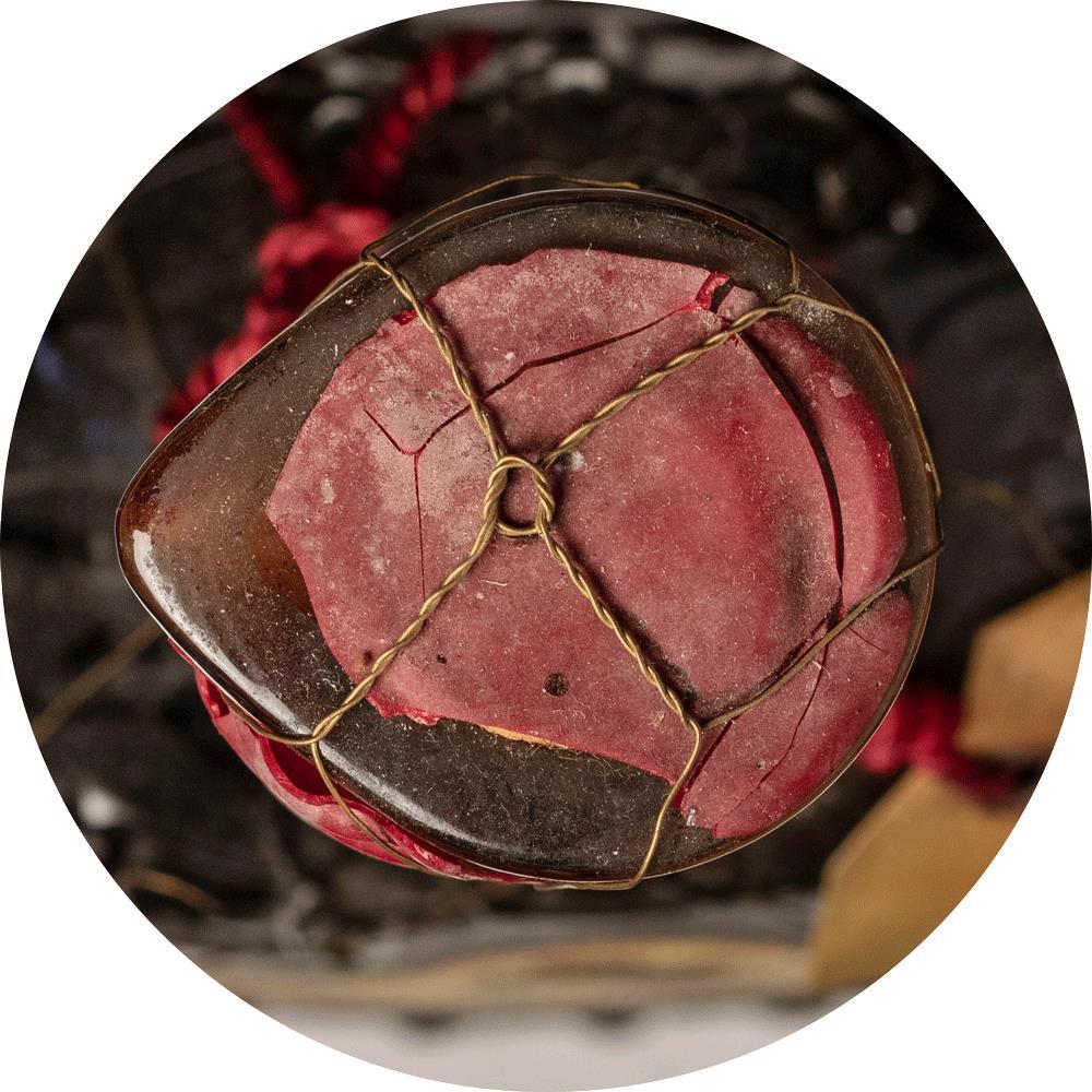 Cognac 1893 Rouyer Guillet Glass Decanter