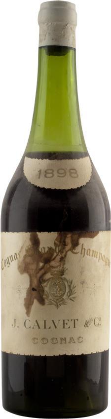 Cognac 1898 Calvet & Co J. (20415)