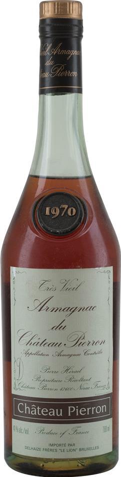 Armagnac 1970 Chateau Pierron (8407)