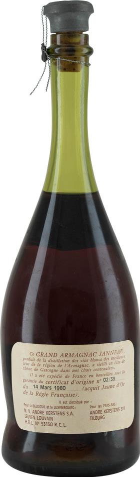 Armagnac 1939 Janneau