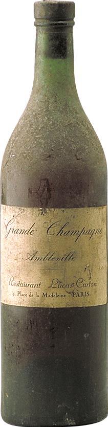 Cognac 1900 Restaurant Lucas-Carton (1960)