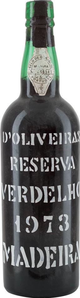 Madeira 1973 D'Oliveiras Verdelho Reserva (8499)