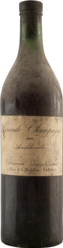 Cognac 1900 Restaurant Lucas-Carton (20420)
