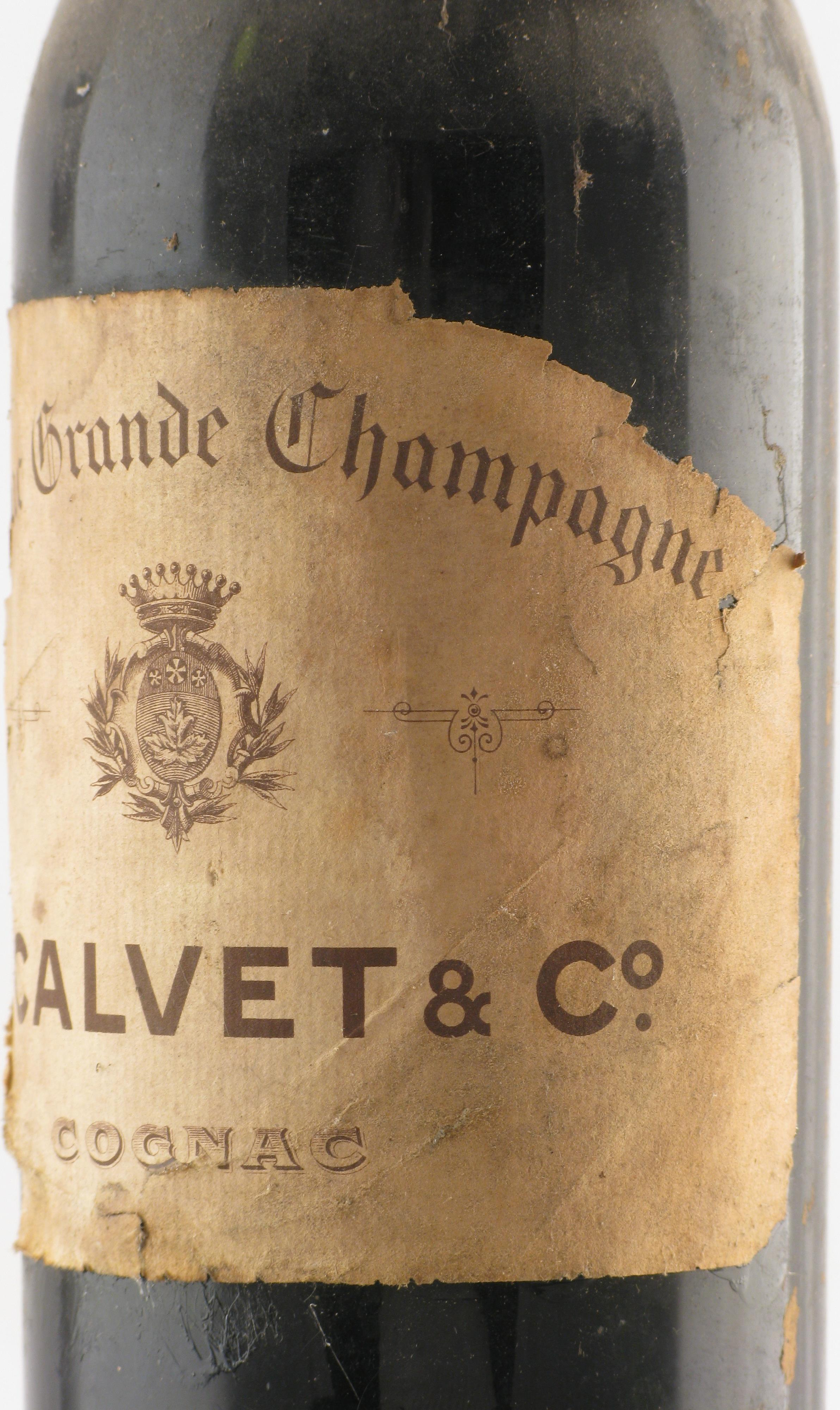 Cognac 1900 Calvet & Co J.