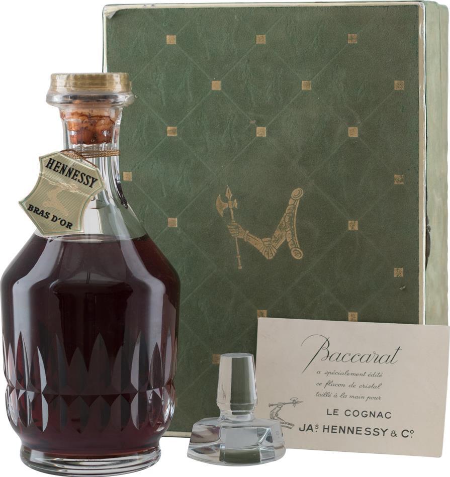 Cognac Hennessy Bras D'Or Baccarat Crystal Carafe