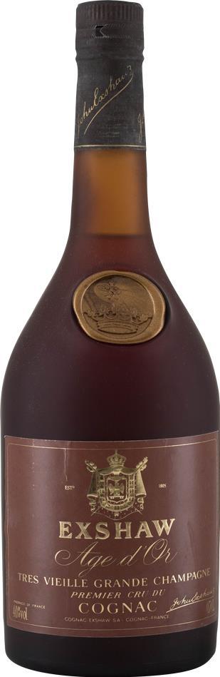 Cognac Exshaw Age D'Or, 35 YO 1980s