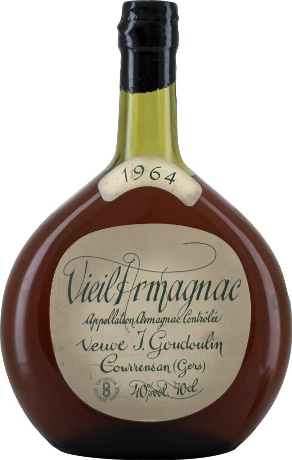 Armagnac 1964 Goudoulin (8639)