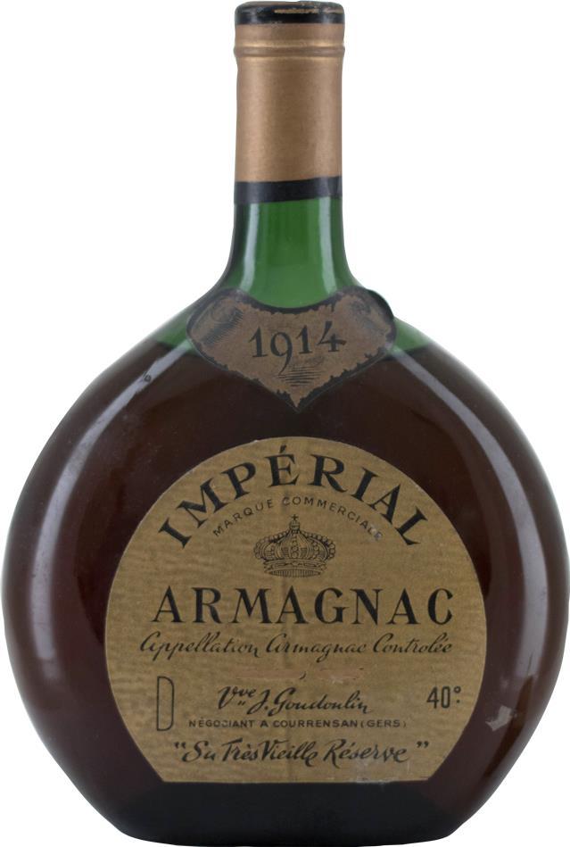 Armagnac 1914 Goudoulin (8640)