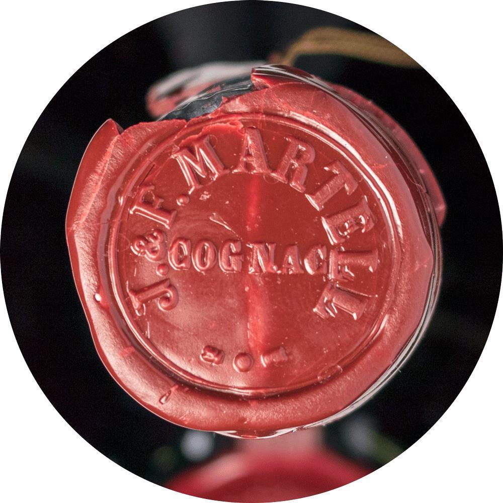 Cognac Martell Cordon Argent Box 1980s