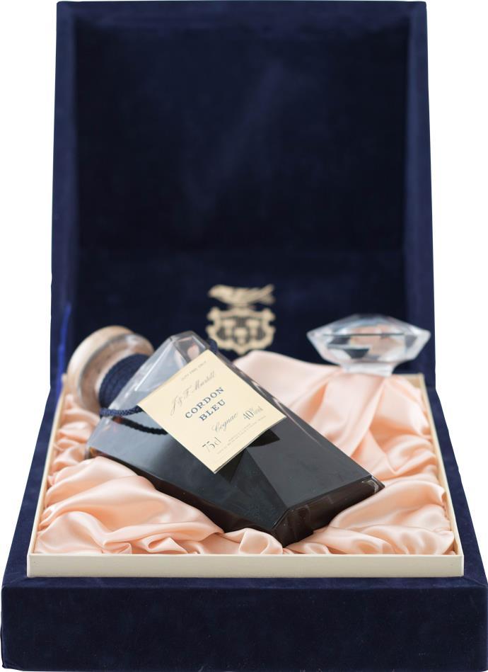 Cognac Martell Cordon Bleu Carafe Baccarat
