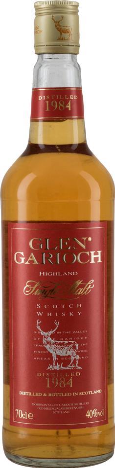 Whisky 1984 Glen Garioch