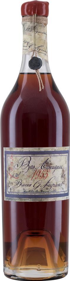 Armagnac 1955 Baron Gaston Legrand (18055)