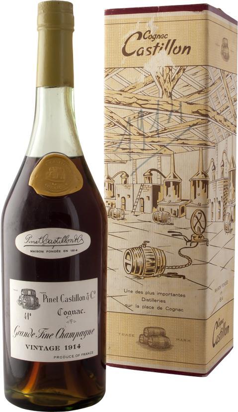 Cognac 1914 Pinet Castillon & Co, Grande Fine Champagne