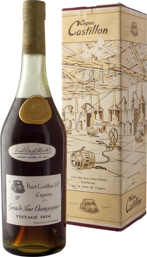 Cognac 1914 Pinet Castillon & Co