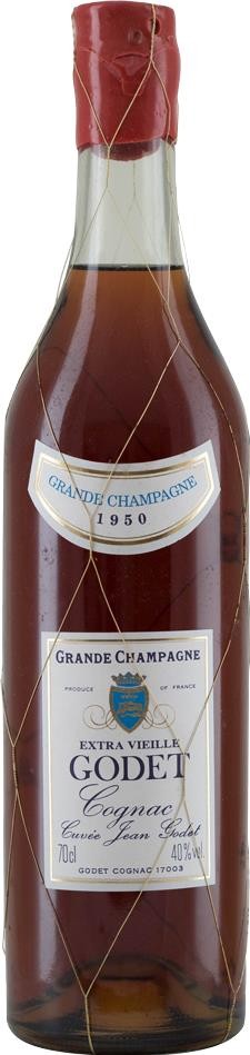Cognac 1950 Godet Grand Champagne