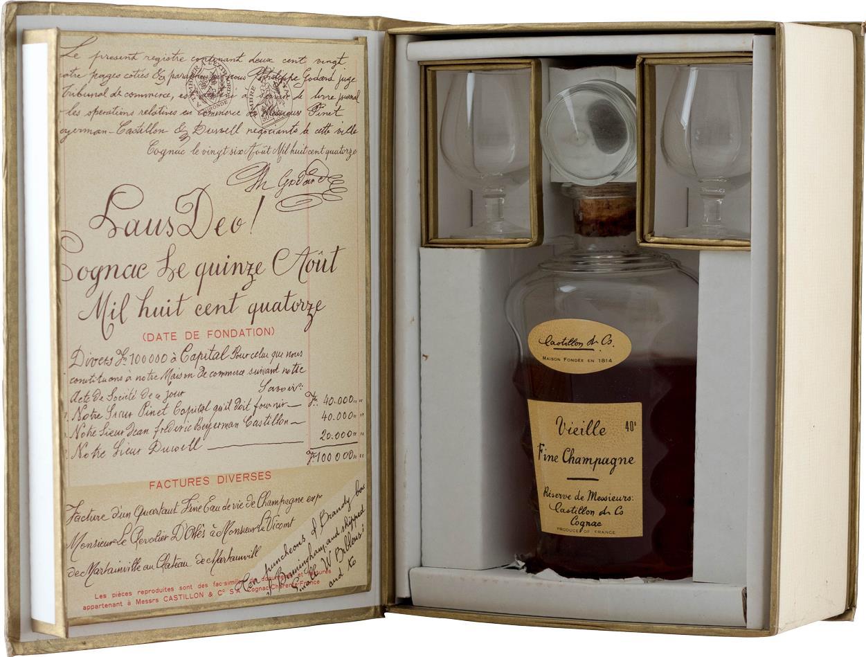 Veille Fine Champagne Cognac, Réserve de Messieurs Castillon & Co