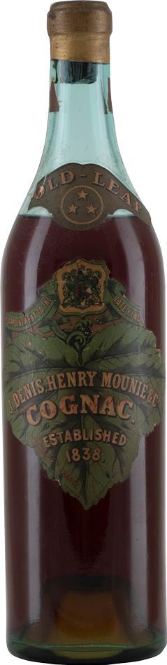 Cognac Denis-Mounié Gold Leaf 1930s (9598)