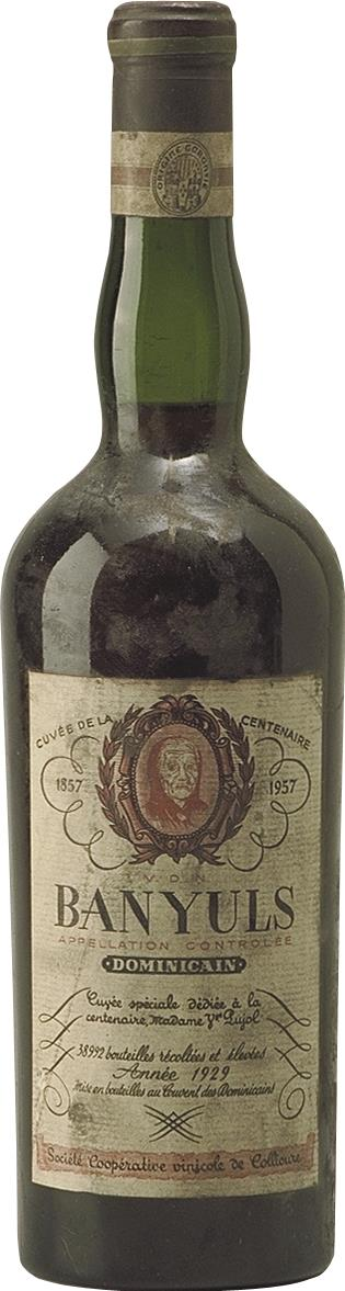 BANYULS DOMINICAIN 1929 (2074)