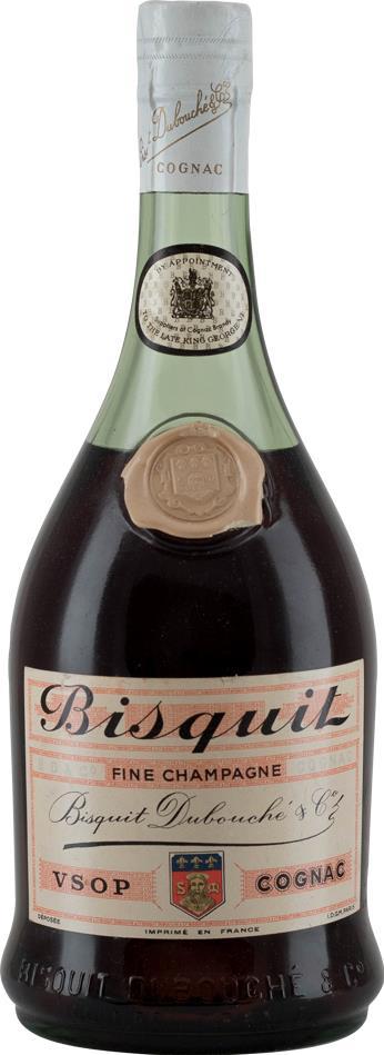 Cognac  Bisquit Dubouché Fine Champagne VSOP 1960s