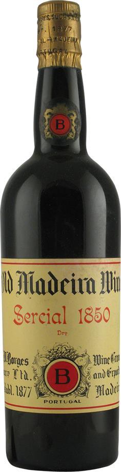Madeira 1850 Borges H.M., Sercial (2106)