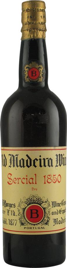 Madeira 1850 Borges H.M. (2108)
