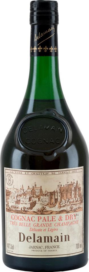 Cognac Delamain Pale & Dry XO 1980s