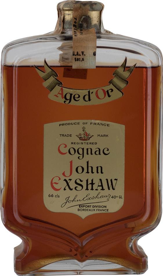 Cognac John Exshaw Age D'Or Caraf 1960s (10011)