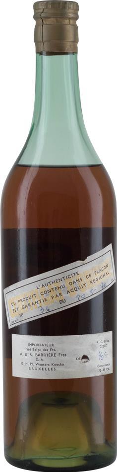 Cognac 1970 Barrière Freres