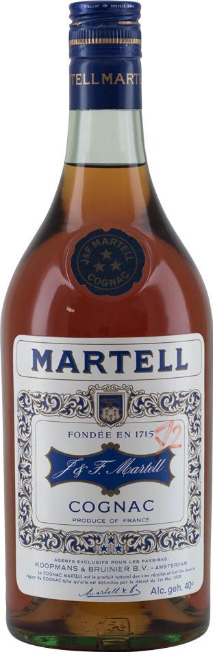 Cognac 1970s Martell J. & F.Three Stars (10020)