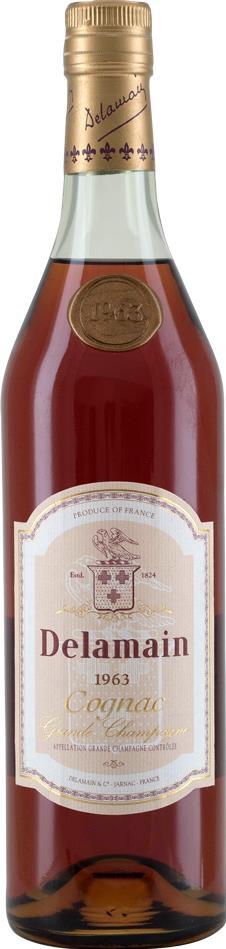 Cognac 1963 Delamain Grand Champagne (10023)