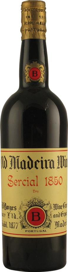 Madeira 1850 Borges H.M. Sercial Dry (2112)