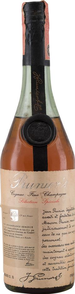 Cognac 1970s  Prunier Fine Champagne Selection Speciale (10056)