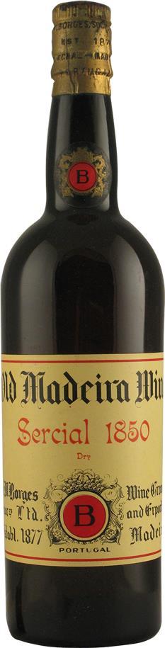 Madeira 1850 Borges H.M. (2116)